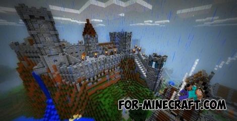 Castle of Lendor map for Minecraft Pocket Edition 0.12.1