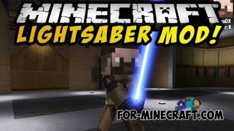 Lightsabers mod for Minecraft PE 0.12.1