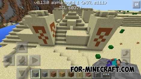 Temple in the desert seed for MCPE 0.13.0