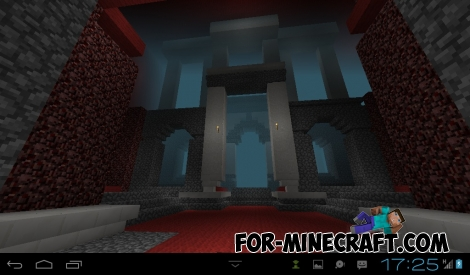 QUAKE map for Minecraft PE 0.13.0