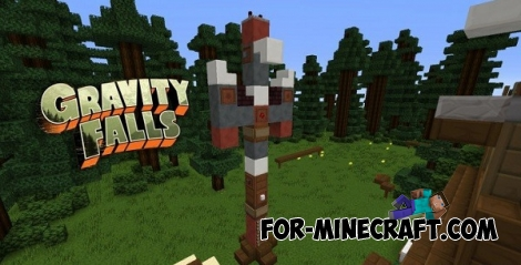Gravity Falls for Minecraft PE 0.13.0
