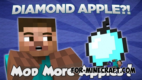More Apples mod for Minecraft PE 0.13.0