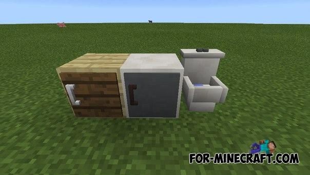 Mrcrayfishs Furniture Mod V6 For Minecraft PE 011 013