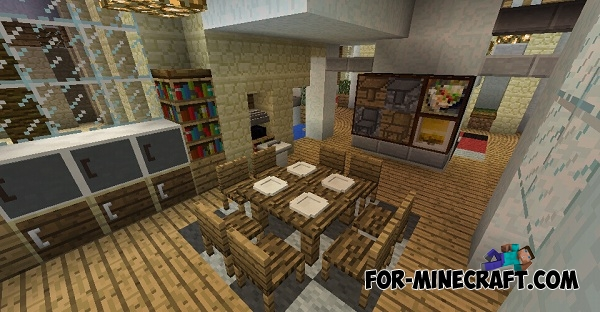 Mrcrayfish\'s Furniture mod v6 for Minecraft PE 0.11/0.13