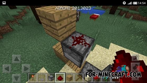 how to make armour minecraft pe