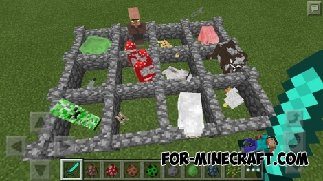 Big Drop mod for Minecraft PE 0.13
