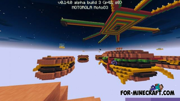 SkyWars Hamburgers Map For MCPE - Mapas para minecraft pe 0 15 1 en español