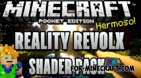 Reality Revolx shaders for MCPE 0.14.0