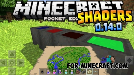 Ultra Shaders for Minecraft PE 0.13.X/0.14.0