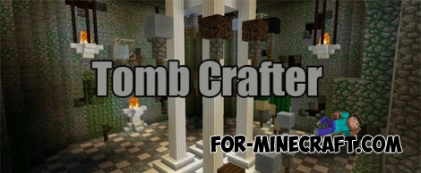 Tomb Crafter map for Minecraft PE 0.14.0
