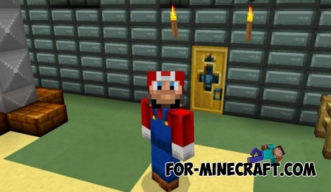 Mario 3D Land map for Minecraft PE 0.14.0