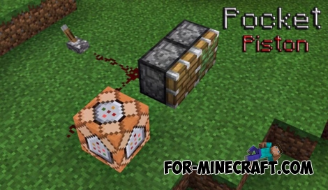 Pocket Piston mod for MCPE 0.14.0/0.14.1/0.14.2