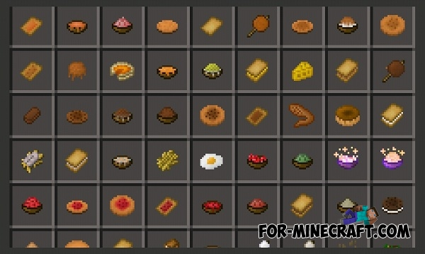 Food recipes minecraft 110 overview saltymod mods projects minecraft 10 droolworthy christmas appetizers bonus beverage food recipes minecraft 110 forumfinder Gallery