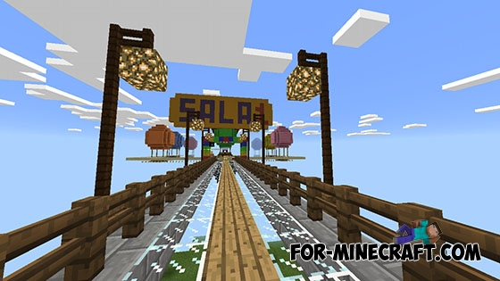 Skywars Map By Yupai For Mcpe 0 14 0