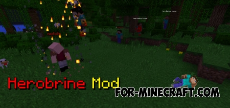 Herobrine mod for Minecraft Pocket Edition 0.14.0/0.14.1