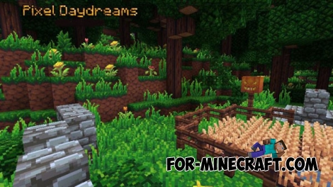 Pixel Daydreams Texture for Minecraft PE 0.14/0.15.2