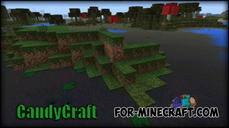 CandyCraft Texture for Minecraft PE 0.14.0