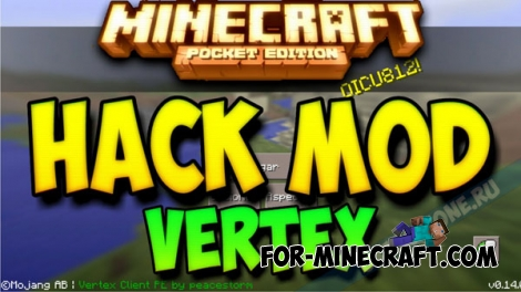Vertex Client for Minecraft PE 0.14