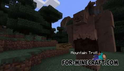 Lord Of The Rings mod for Minecraft PE 0.12/0.13/0.14.0