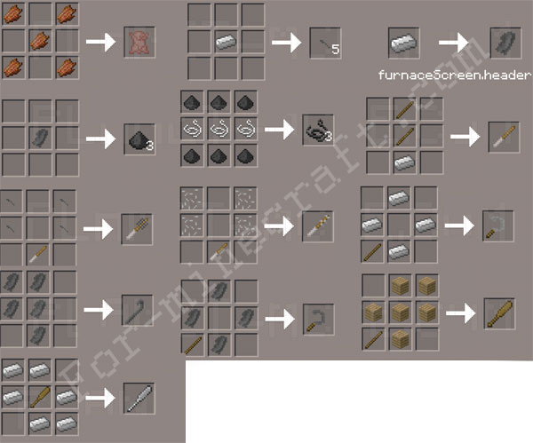 Crafting Dead Items Id