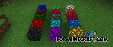 Super Colored Lightning 2000 Mod for MCPE 0.14.0