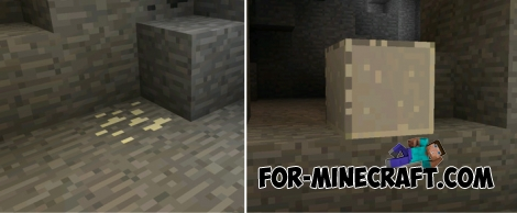how to find precious metals in minecraft pocket edition