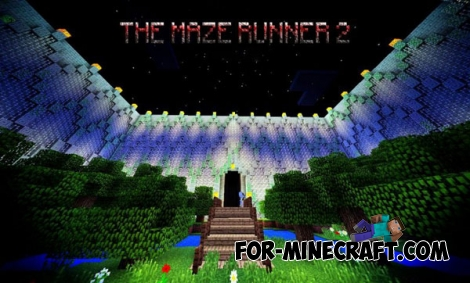 The Maze Runner 2 map for MCPE 0.14