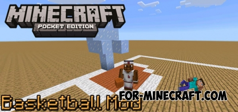 Simple Basketball mod for MCPE 0.14.0/0.14.1/0.14.2
