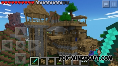 Epic Survival map for Minecraft PE 0.14/0.15.0
