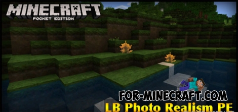 LB Photo Realism PE texture for MCPE 0.14.3/0.15.0