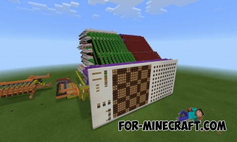Redstone Mechanical display for Minecraft PE 0.15.0/0.15.1
