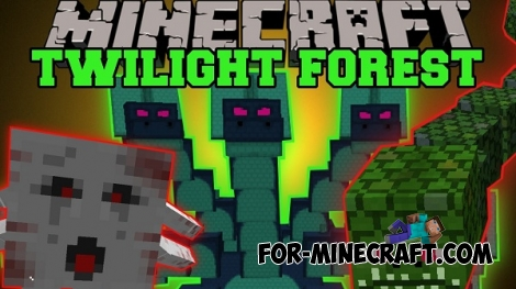 Twilight forest mod for Minecraft PE 0.14.1/0.14.2/0.14.3