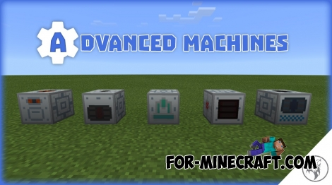 Advanced Machines addon for Factorization 5.2 (Minecraft PE 0.14-0.15)