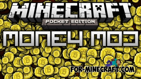 Money mod for Minecraft PE 0.15.2/0.15.3