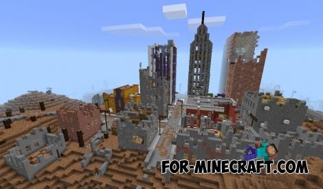 Zombie Apocalypse mod v2 for Minecraft PE 0.15/0.16/0.17.0
