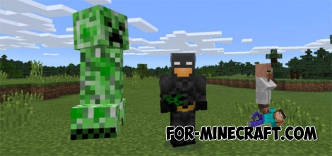 Mega Mobs mod for Minecraft PE 0.15