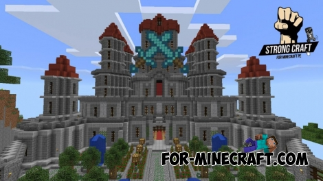 Strong Craft server for Minecraft PE 0.15