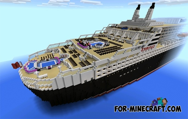 Queen Mary 2 Map For Minecraft Pe 0 16 0