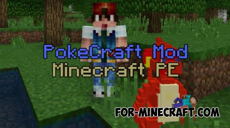 PokeCraft mod for Minecraft PE 0.15.0-0.15.9