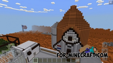 Hunger Games Mars map for MCPE 0.15/0.16.0