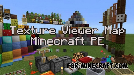 Texture Viewer map for MCPE 0.15.9/0.16.0