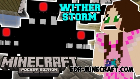 Wither Storm addon for MCPE 0.16.0/1.0.0/1.0.2