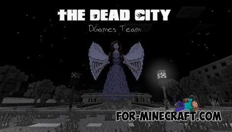 The Dead City map for MCPE 0.16.0/0.16.1