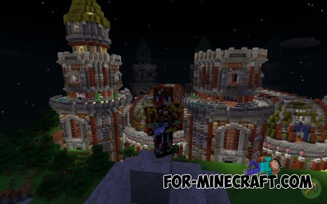 Fantasy World map for MCPE 0.17.0