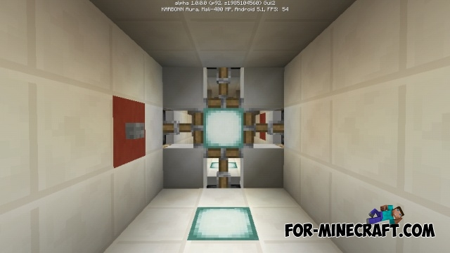how to make a piston in minecraft pe