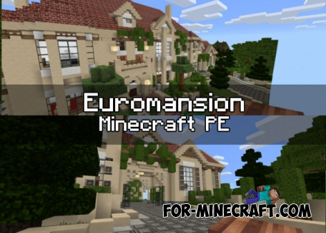 Euromansion map for MCPE 1.0.0 (0.17.0)
