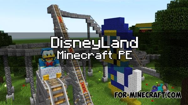 Articles For - Disneyland map fur minecraft pe