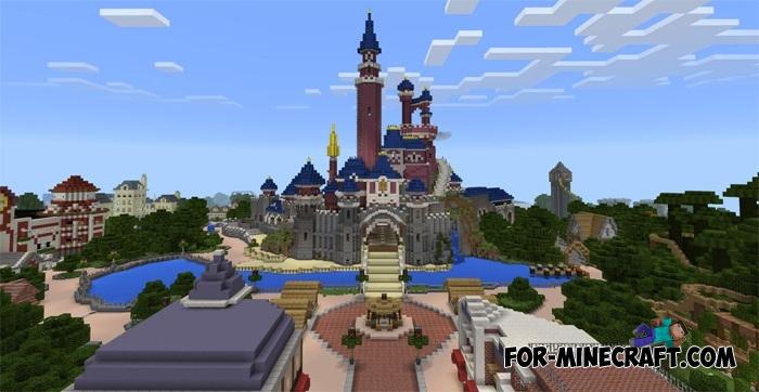 DisneyLand Map V For Minecraft PE - Disneyland map fur minecraft pe