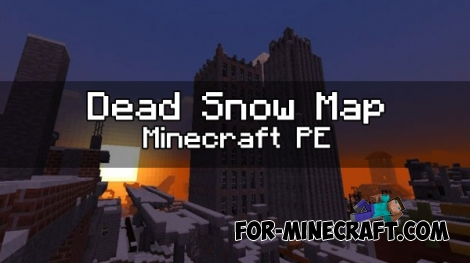 Dead Snow map for Minecraft PE 1.0 (0.17.0)