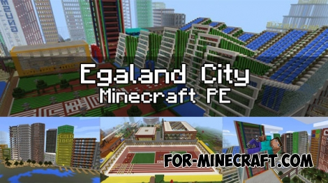 Egaland city - Museum Update for Minecraft 1.0.3 (0.17.0)
